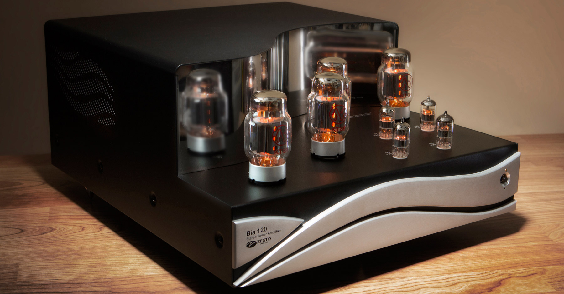 Bia 120 Stereo Power Amp Vacuum Tube Kt88 Class A 60 Watts Chanel Amplifier With Output More